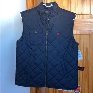 Ralph Lauren Polo quilted vest